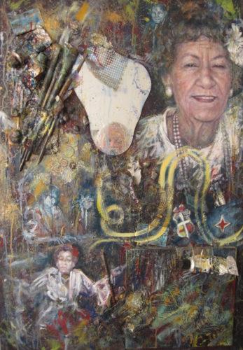 Bernadina Grovel door Gustave Nouel