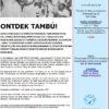 TAMBÚ MANIFESTATIE 30 SEPTEMBER 2017 …. ER ZIJN NOG KAARTEN BESCHIKBAAR ….. IEDEREEN IS WELKOM