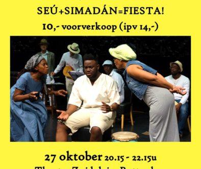 Vrijdag, 27 oktober 2017 Seú + Simadán = FIESTA!